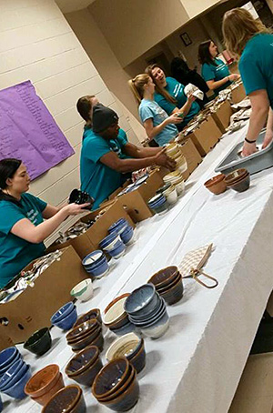 Social Work Empty Bowls Event