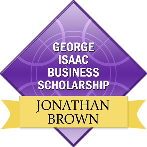 George Isaac Business Scholarship: Jonathan Brown