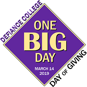 Defiance College One Big Day: Day of Giving on March 14, 2019