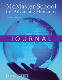 McMaster Journal Cover vol 8 2014