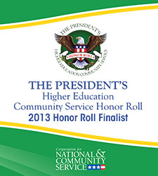 President's Higher Education Honor Roll